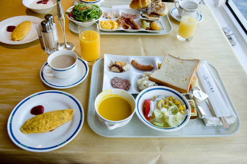 飛鳥Ⅱ 朝食・洋食ビュッフェ