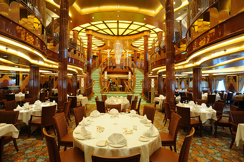 Queen Elizabeth Main Restaurant