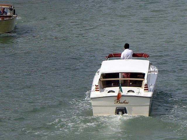 ベニスの水上タクシー