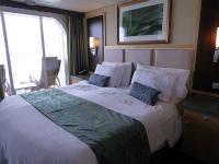 客船のベッド