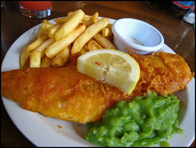 フィッシュ・アンド・チップス Fish & Chips