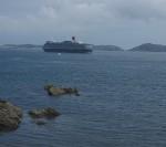 クイーン・エリザベス サウサンプトン発着 ガーンジー島への3泊4日のショートクルーズは1週間程度の休暇でも可能?