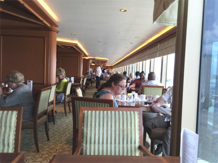 クイーン・エリザベス リドレストラン