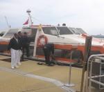 クイーン・エリザベス エクスカーションツアー ガーンジー島セント・ピーター・ポートにテンダーで上陸