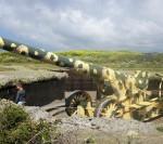 クイーン・エリザベス バスツアーでガーンジー島の観光(2) プレインモント・ポイント Pleinmont Pointとガーンジー・パール Guernsey Pearlに行きました。