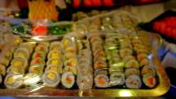 クイーン・エリザベスの寿司