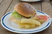 飛鳥2のハンバーガー
